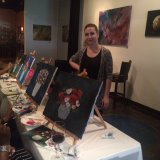 Canvas Painting Class with Claudia Carbajal