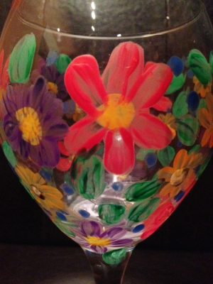 Wine Glass Painting Class-The Art of Wine