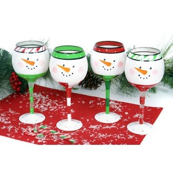 Holiday Wine Glass Painting Class The Art Of Wine